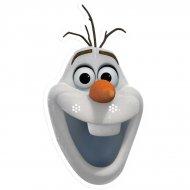 Masque Reine des Neiges Olaf