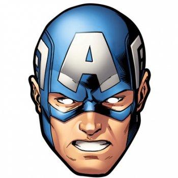 Masque avengers captain am rica pour l 39 anniversaire de votre enfant annikids - Masque de captain america ...