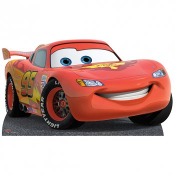 Silhouette Géante Carton Cars Flash McQueen (86 cm)