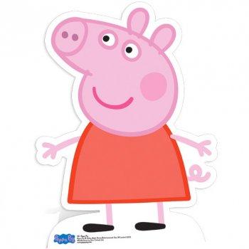 Silhouette Géante Carton Peppa Pig (83 cm)