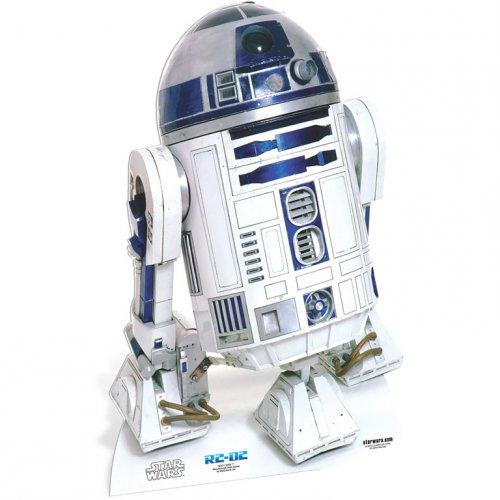 Silhouette Carton Star Wars R2-D2 (91 cm)