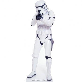 Silhouette Géante Carton Star Wars Stormtrooper (183 cm)