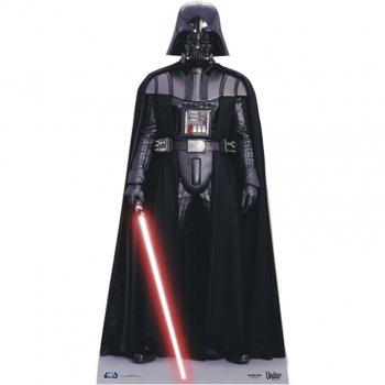 Silhouette Géante Carton Star Wars Dark Vador (195 cm)