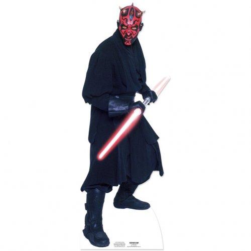 Silhouette Géante Carton Star Wars Dark Maul (185 cm)