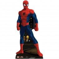 Silhouette G�ante Carton Spiderman (173 cm)