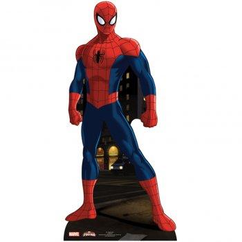 Silhouette Géante Carton Spiderman (173 cm)