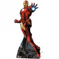 Silhouette Géante Carton Avengers Iron Man (175 cm)