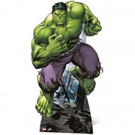 Silhouette Géante Carton Avengers Hulk (176 cm)