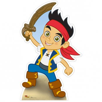 Silhouette Carton Jake le Pirate (91 cm)