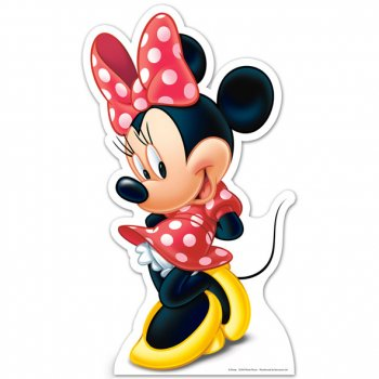 Silhouette Carton Minnie (89 cm)