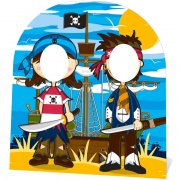 Photo Fun Géant en carton Bande de Pirates
