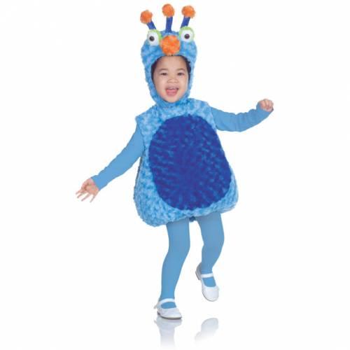 Déguisement Peluche Monstre Bleu