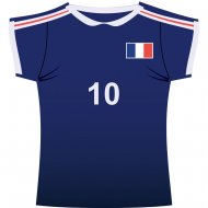Decor Maillot de France Carton