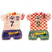 4 Mini Flippers Maillot de Foot