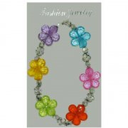 Bracelet Fleurs Cristal Colors