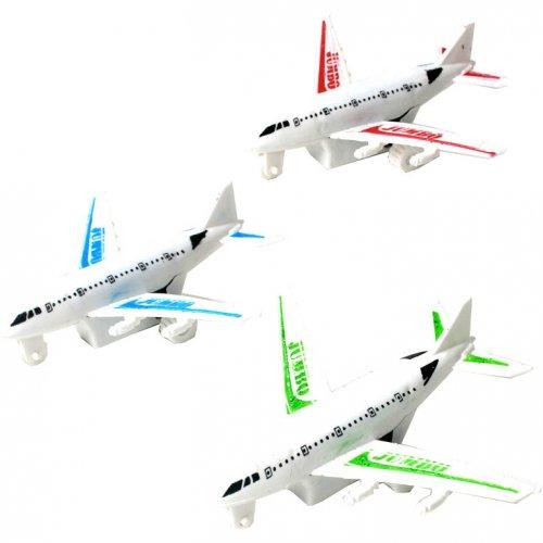 1 Avion de ligne à rétrofriction