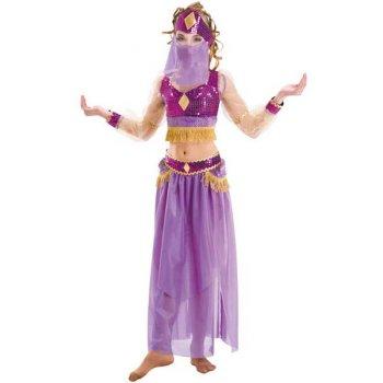 Déguisement de Danseuse Orientale Violet