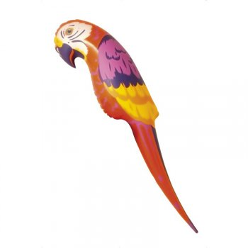 Perroquet gonflable XL (116 cm)