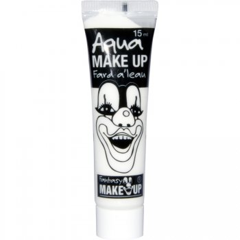 Tube Maquillage Aquacolor Blanc (15 ml)
