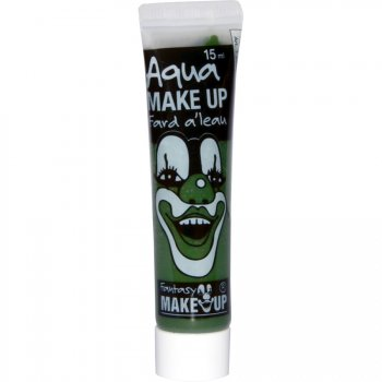 Tube Maquillage Aquacolor Vert (15 ml)