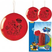 3 Ballons Punchball Pat Patrouille (50 cm)