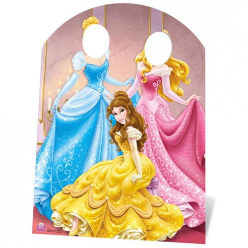 Photo Fun géant en Carton Princesse Disney (127 cm)