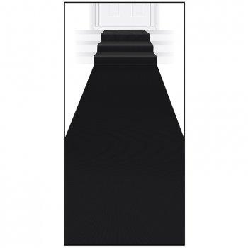 Tapis Noir Double Face (4,50 m)