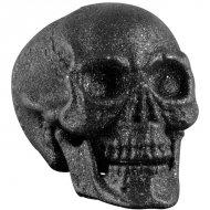 Crâne Articulé (24 cm)  - Glitter Noir