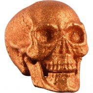 Crâne Articulé (24 cm) - Orange Glitter