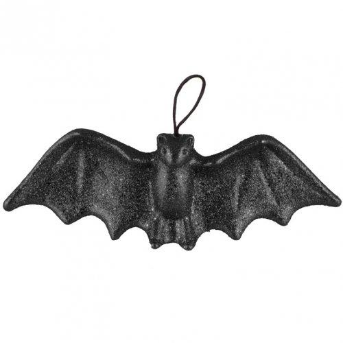 Chauve-Souris 3D (28 cm) - Noir Glitter