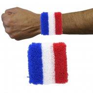 Paire de Poignets de Supporter Tricolores France