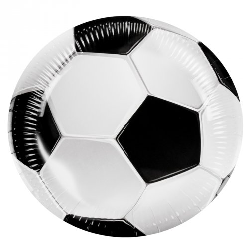 6 Assiettes Football Game