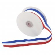 Maxi Ruban Tricolore France (25 m)