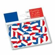 150 Gros Confettis Tricolore France (2,5 cm)