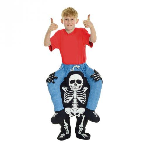 Déguisement à Dos de Squelette Enfant Taille unique