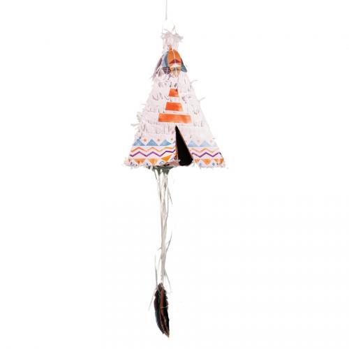 Pull Pinata Tipi Indien (45 cm)
