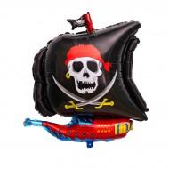 Ballon Géant Bateau Pirate (66 cm)