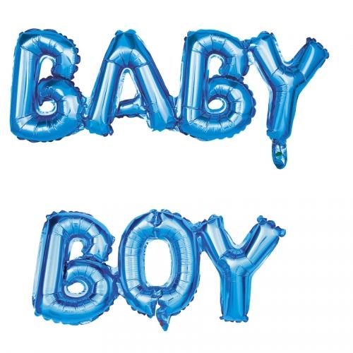 """Ballon Lettres - """"BABY BOY"""" (108 cm)"""
