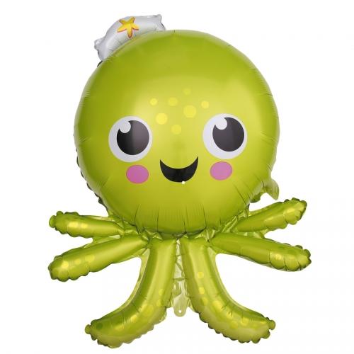 Ballon Poulpe Octopus Géant (89 cm)
