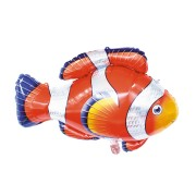 Ballon Poisson Clown Géant (89 cm)