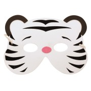 Masque Tigre Blanc - Mousse