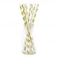 10 Pailles - Ananas