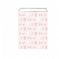 25 Pochettes Cadeaux - Baby Rose