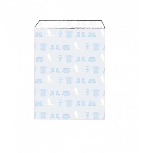 25 Pochettes Cadeaux - Baby Blue