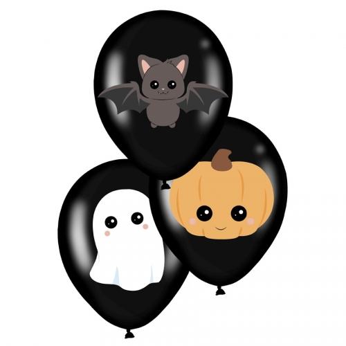 6 Ballons Sweety Halloween