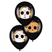6 Ballons - Dia De Los Muertos