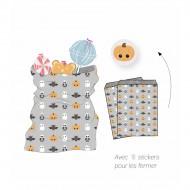 25 Pochettes Cadeaux Halloween en Papier