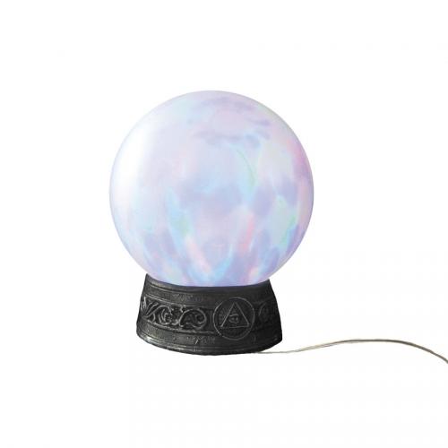 Boule de Cristal de Sorcière Sonore et Lumineuse