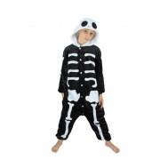Déguisement Kigurumi Squelette Taille 7-9 Ans