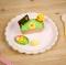 8 Assiettes Festonnées Rose Pastel et Or images:#3